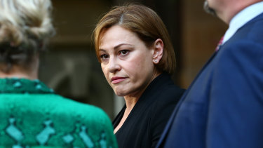 Jackie Trad came under fire recently over a contentious Woolloongabba property.