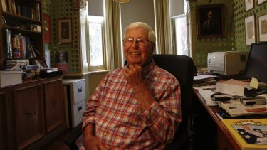 At home preparing his final show in a remarkable 78-year radio career: Bob Rogers is finishing up at Classic Hits 2CH.