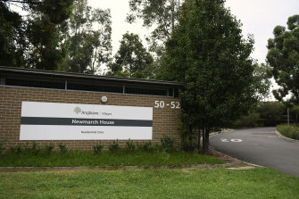 Three residents of the Anglicare Newmarch House aged care facility have died after contracting coronavirus.