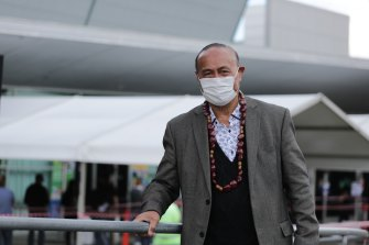 """We've got to be prepared"": Samoan community leader John Pale."