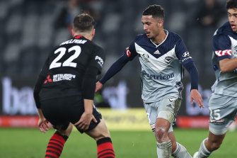 Melbourne Victory's Birkan Kirdar experienced a spike in match minutes after the COVID-19 break.
