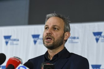 Victoria's Chief Health Officer Brett Sutton on Wednesday.