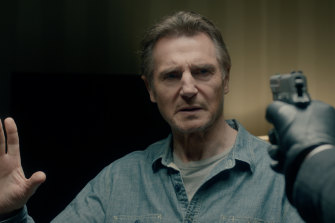 Two weeks in quarantine will no doubt just be the first of the many obstacles Neeson will face in Blacklight.