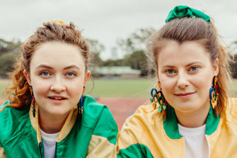 Bobbie-Jean Henning and Alexandra Keddie play Olympic no-hopers in the bite-sized episodes of mockumentary <i>The Power of the Dream.
