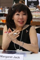 Sydney businesswoman Margaret Jack was a director of Kinox Enterprises Pty Ltd when manufacturing mogul Sun Kin Chao – also a director – made the donation to the WA Liberals.