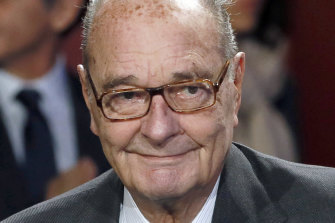 Former French president Jacques Chirac has died at the age of 86.