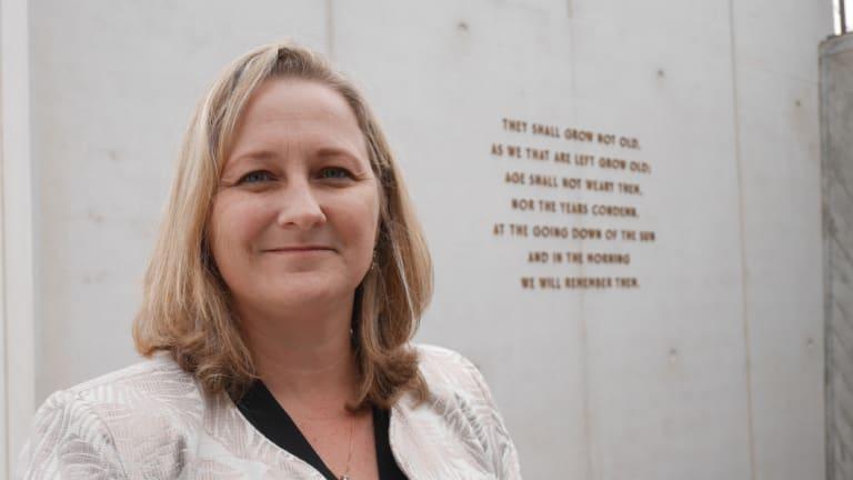 Sir John Monash Centre director Caroline Bartlett.
