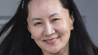 Huawei chief financial officer Meng Wanzhou.