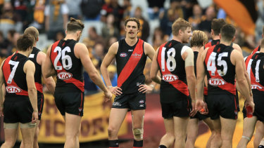 Essendon are taking a cautious approach with key forward Joe Daniher.