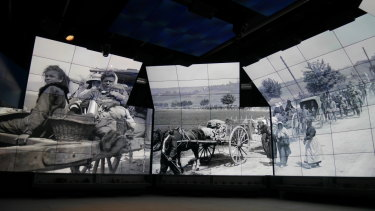 The Sir John Monash Centre is not your traditional museum. It's a multimedia, digital Aladdin's Cave.