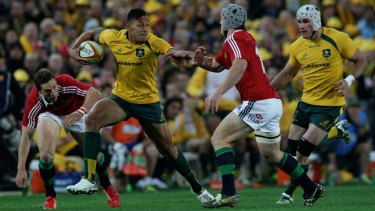 Motivating factor: The British and Irish Lions tour in 2013 proved a real lure for Australian players.