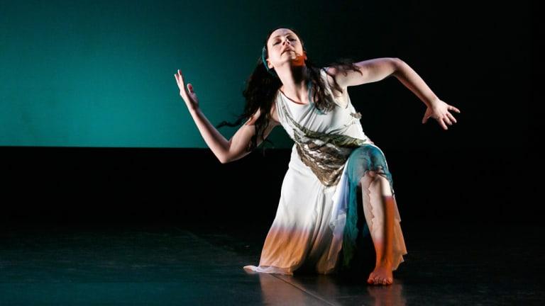 Amanda Tutalo in <i>Woman of the River</i>.
