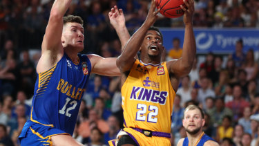 Brisbane were able to keep Kings star Casper Ware relatively quiet on Friday.