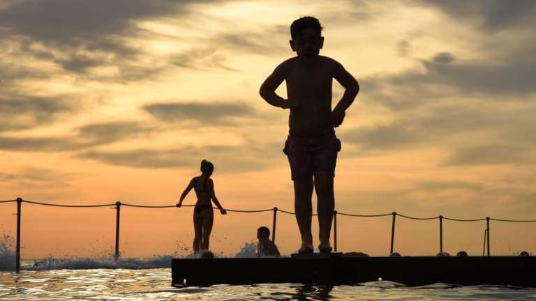 To swim, travel and make mistakes: so many things to teach a son.