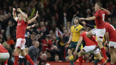 Historic: Wales are one victory away from a clean sweep of the November internationals.