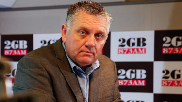 Two official complaints have been lodged against radio personality Ray Hadley by 2GB staff.