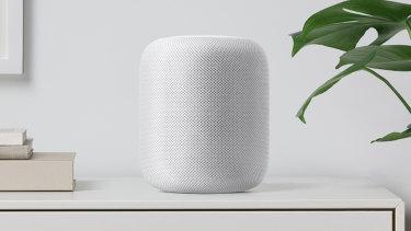 The speaker also comes in white.