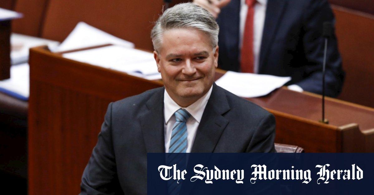 Mathias Cormann to resign to pursue top job at OECD – Sydney Morning Herald