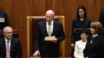'Australia is not a finished product': General David Hurley sworn in as 27th Governor-General