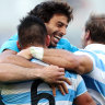 Argentina's miracle of Bankwest opens door for Wallabies to defend title