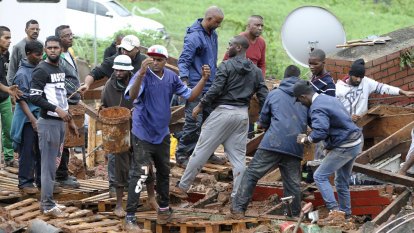 Scores dead after flooding in South Africa