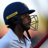 Punam walks in women's Test against Australia, played without DRS