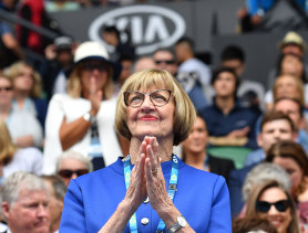 Margaret Court is due to receive a Companion of the Order of Australia.