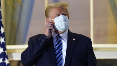 US President Donald Trump returned to the White House with a theatrical flourish after being hospitalised for COVID-19.