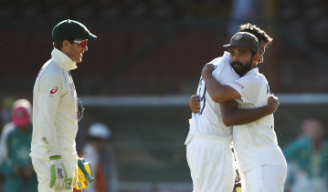 India ensured the series would head to Brisbane on a knife's edge.