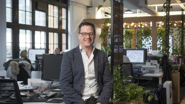 Hub Australia founder Brad Krauskopf.