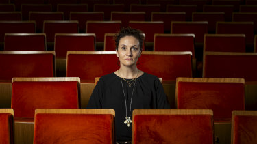 Claire Spencer, CEO of Arts Centre Melbourne, in Hamer Hall, Melbourne.