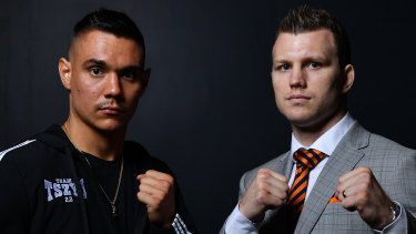 Tim Tszyu and Jeff Horn now have more time to train after their April fight was postponed.