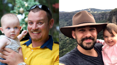 Geoff Keaton and Andrew O'Dwyer died in a motor vehicle accident at the Green Wattle fireground, near Buxton in south-western Sydney on Thursday night.