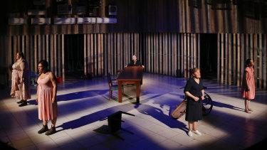 The Melbourne Theatre Company's 2018 production The House of Bernarda Alba.