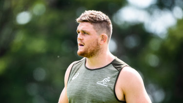 Lachlan Swinton is set to return to the Waratahs' side this week.