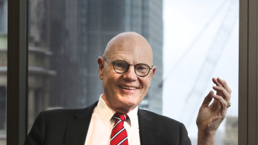 Dr Don Russell was an adviser to Paul Keating during the 1990s recession and is now chairman of AustralianSuper.