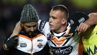 Wests Tigers hooker Jacob Liddle has vowed to come back from his latest injury setback.