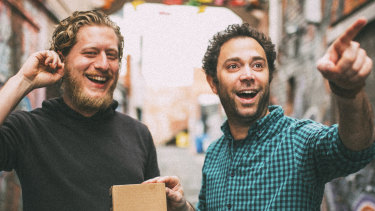 Ralph Krell, founder of Mana Cold Brew Coffee and his business partner Ibrahim Achkar-Kerbaji.