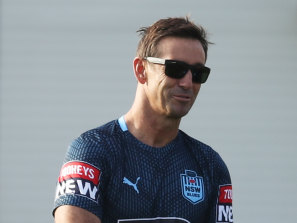 Andrew Johns is a work in progress when it comes to the fight to make rugby league safer.