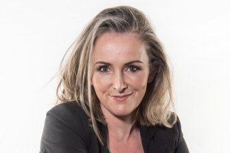 Adore Beauty chief executive Tennealle O'Shannessy is hoping the 'lipstick effect' will keep the company in good stead.