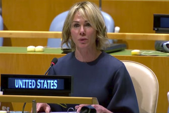 Kelly Craft, the US ambassador to the United Nations, said she was