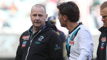 A likely tough draw to finish for Port Adelaide.