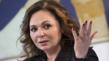 Russian lawyer Natalia Veselnitskaya.