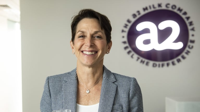 a2 Milk chief executive Jayne Hrdlicka.