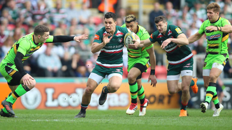 Welford Road: Toomua looks set to leave the historic home of the Leicester Tigers to take up an offer with the Rebels.