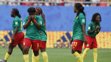 'That wasn't football': England manager appalled by Cameroon outbursts