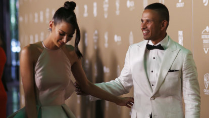 Smooth, even textures on trend at the Australian Cricket Awards