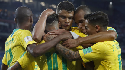 Brazil outclass Serbia to set up Mexico clash