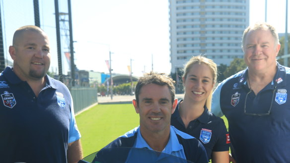 Blues coach Fittler vows NSW incumbents have 'first dibs'