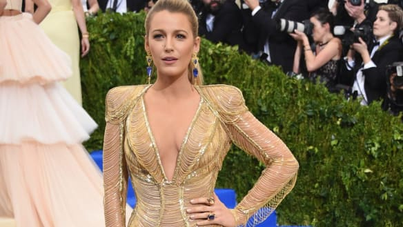 What kind of dress takes 600 hours to make? Ask Blake Lively